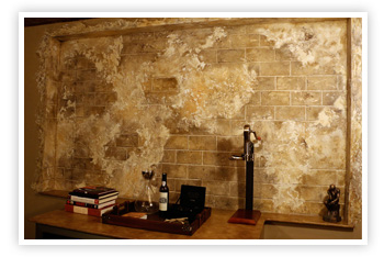 Decorative Paintings of Wall Finishes