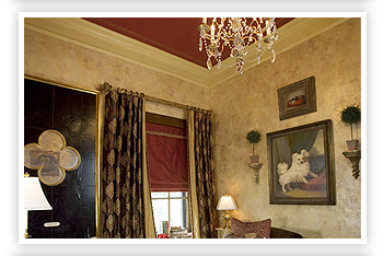 Showcase gallery of decorative paintings and murals